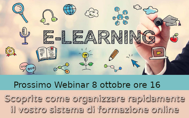 WEBINAR SU ILIAS OPEN SOURCE LMS